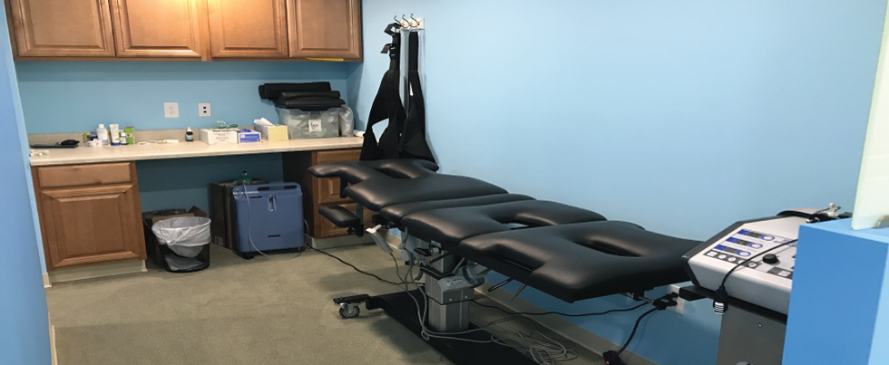 Nektalov Family Chiropractic Spinal Decompression Table
