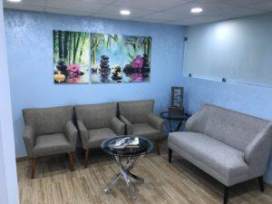 Nektalov Family Chiropractic Waiting Area